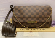 Load image into Gallery viewer, Louis Vuitton Favorite MM Damier Ebene Clutch (FL0177)