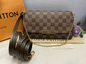Louis Vuitton Favorite PM Damier Ebene (SA2146)