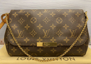 Louis Vuitton Favorite MM Monogram Clutch (FL5103)