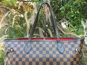 Louis Vuitton Neverfull MM Damier Ebene (SF0155)