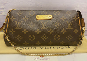 Louis Vuitton Eva Monogram Clutch Crossbody (MB3194)
