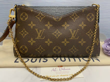 Load image into Gallery viewer, Louis Vuitton Pallas Noir/Black Chain Clutch (CA0166)