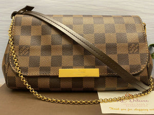 Louis Vuitton Favorite PM Damier Ebene (FL1134)