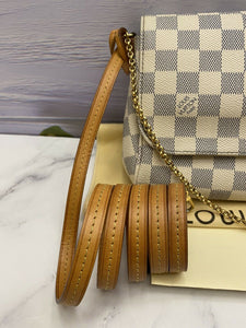 Louis Vuitton Favorite MM Damier Azur (DU2125)
