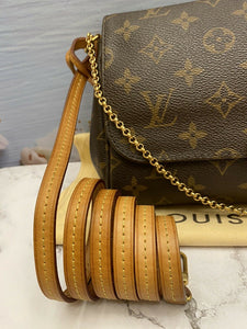 Louis Vuitton Favorite MM Monogram Clutch(DU4124)