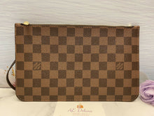 Load image into Gallery viewer, Neverfull MM/GM Damier Ebene Red Wristlet (FL3127)