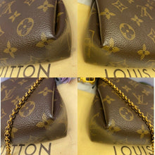 Load image into Gallery viewer, Louis Vuitton Pallas Noir/Black Chain Clutch (CA1106)
