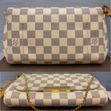 Load image into Gallery viewer, Louis Vuitton Favorite PM Damier Azur (FL1175)