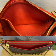 Load image into Gallery viewer, Louis Vuitton Pallas Cerise Red Clutch (CA5106)