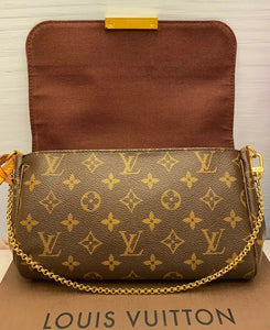 Louis Vuitton Favorite MM Monogram Purse (DU0173)