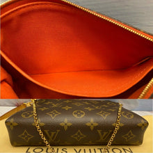 Load image into Gallery viewer, Louis Vuitton Pallas Cerise Red Clutch Crossbody (CA0196)