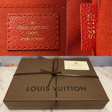 Load image into Gallery viewer, Louis Vuitton Pallas Cerise Red Clutch (GI1196)