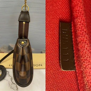 Louis Vuitton Eva Damiar Ebene Clutch (DU5111)