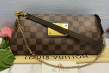 Load image into Gallery viewer, Louis Vuitton Eva Damiar Ebene Clutch (DU5111)