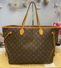 Load image into Gallery viewer, Neverfull GM Monogram Beige Tote Bag (SD0121)