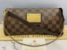 Load image into Gallery viewer, Louis Vuitton Eva Damiar Ebene Clutch (AA2112)