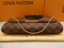 Load image into Gallery viewer, Louis Vuitton Favorite MM Damier Ebene Crossbody Bag