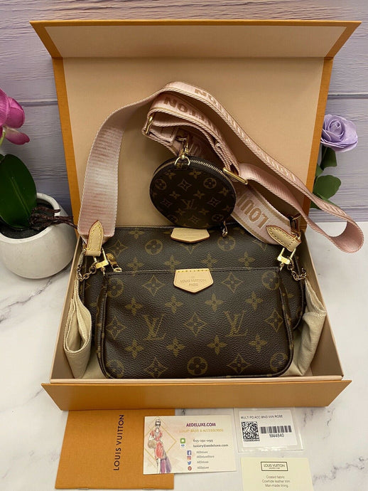 BRAND NEW Louis Vuitton Multi Pochette Accessories (SD3210, SD3200)