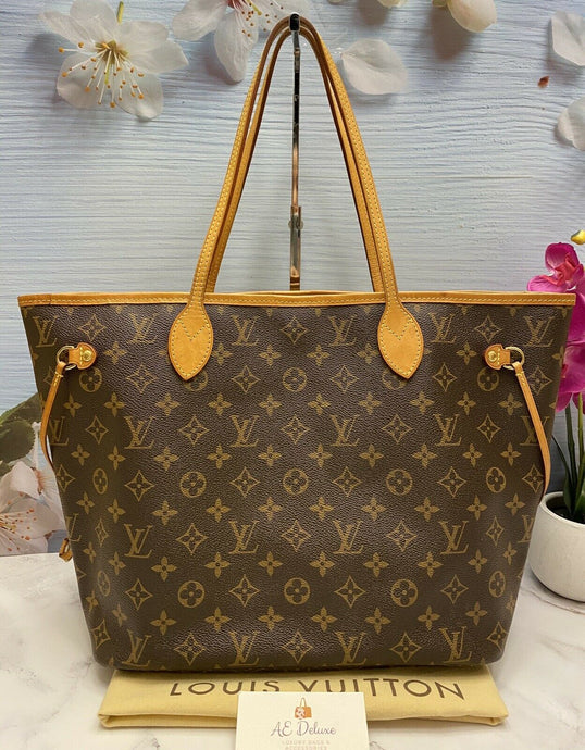 Louis Vuitton Neverfull MM Monogram Cherry (AR2125)