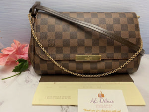 Louis Vuitton Favorite MM Damier Ebene (FL4106)