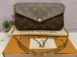 Louis Vuitton Felicie Monogram Fuchsia (SP1197)