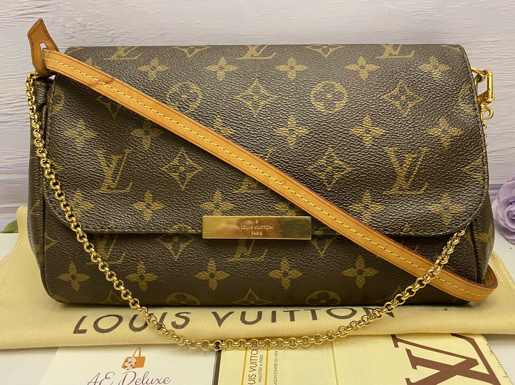 Louis Vuitton Favorite MM Monogram Clutch (DU0124)