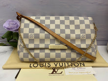 Load image into Gallery viewer, Louis Vuitton Favorite MM Damier Azur (DU2125)