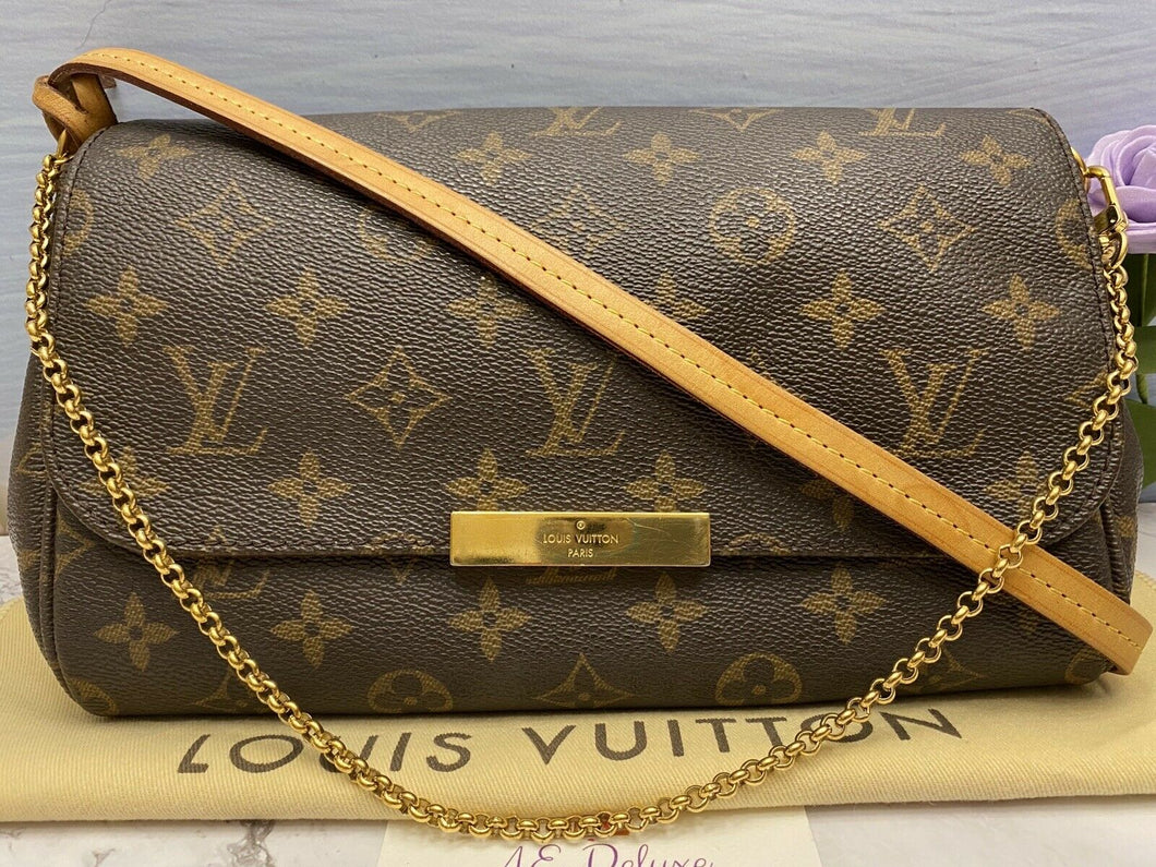 Louis Vuitton Favorite MM Monogram Clutch (FL2182)