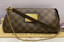 Load image into Gallery viewer, Louis Vuitton Eva Damier Ebene Clutch (AA2160)