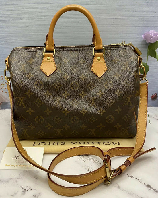 Louis Vuitton Speedy 30 Bandouliere (MB0124)