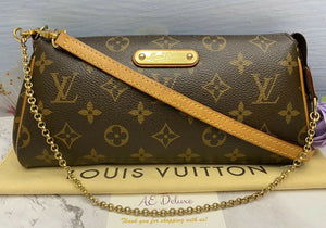 Louis Vuitton Eva Monogram Clutch (SN0192)