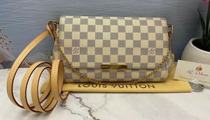 Louis Vuitton Favorite MM Damier Azur (SD1124)