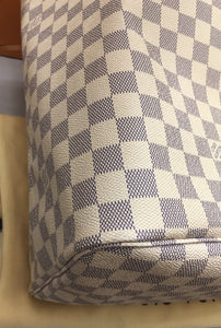 Louis Vuitton Neverfull GM Damier Azur Beige Tote