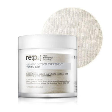 RE:P Organic Cotton Treatment Toning Pad