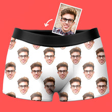 Custom Face Photo Boxer Shorts - Colorful