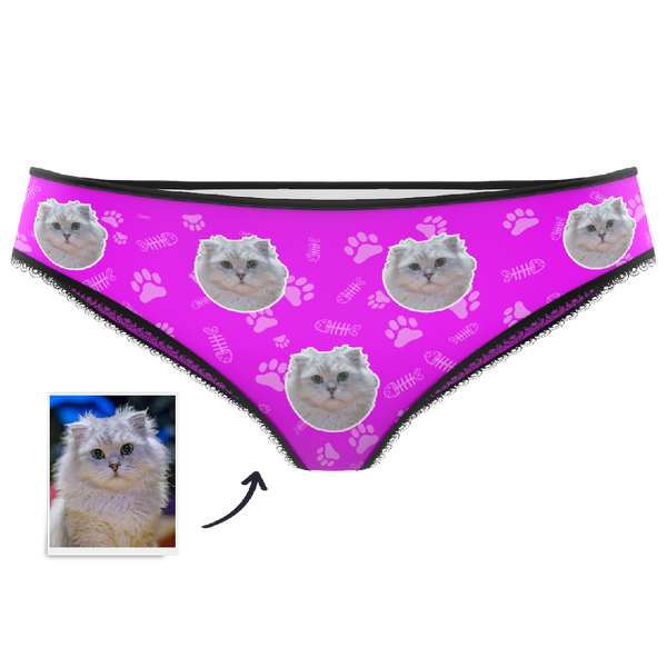 Custom Face Panties - Cat