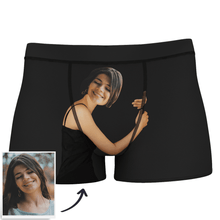 Custom Face Man Boxer Shorts On Body Tan-Skin
