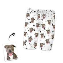 Customized Photo Short Sleeved Pyjamas Home Pyjamas-Bone