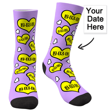 Custom Anniversary Socks