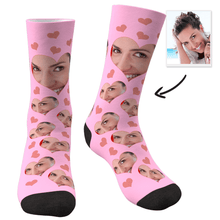 Custom Face Socks Love Heart - MyFaceSocksAU
