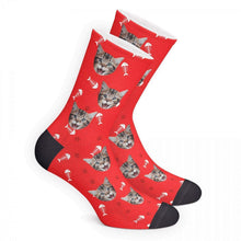 Custom Cat Socks 3D Preview
