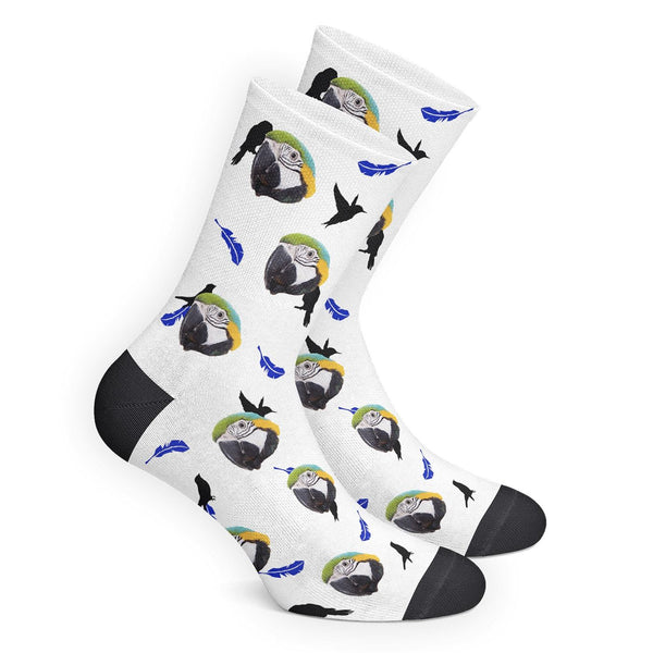 Custom Bird Socks - Myfacesocksau