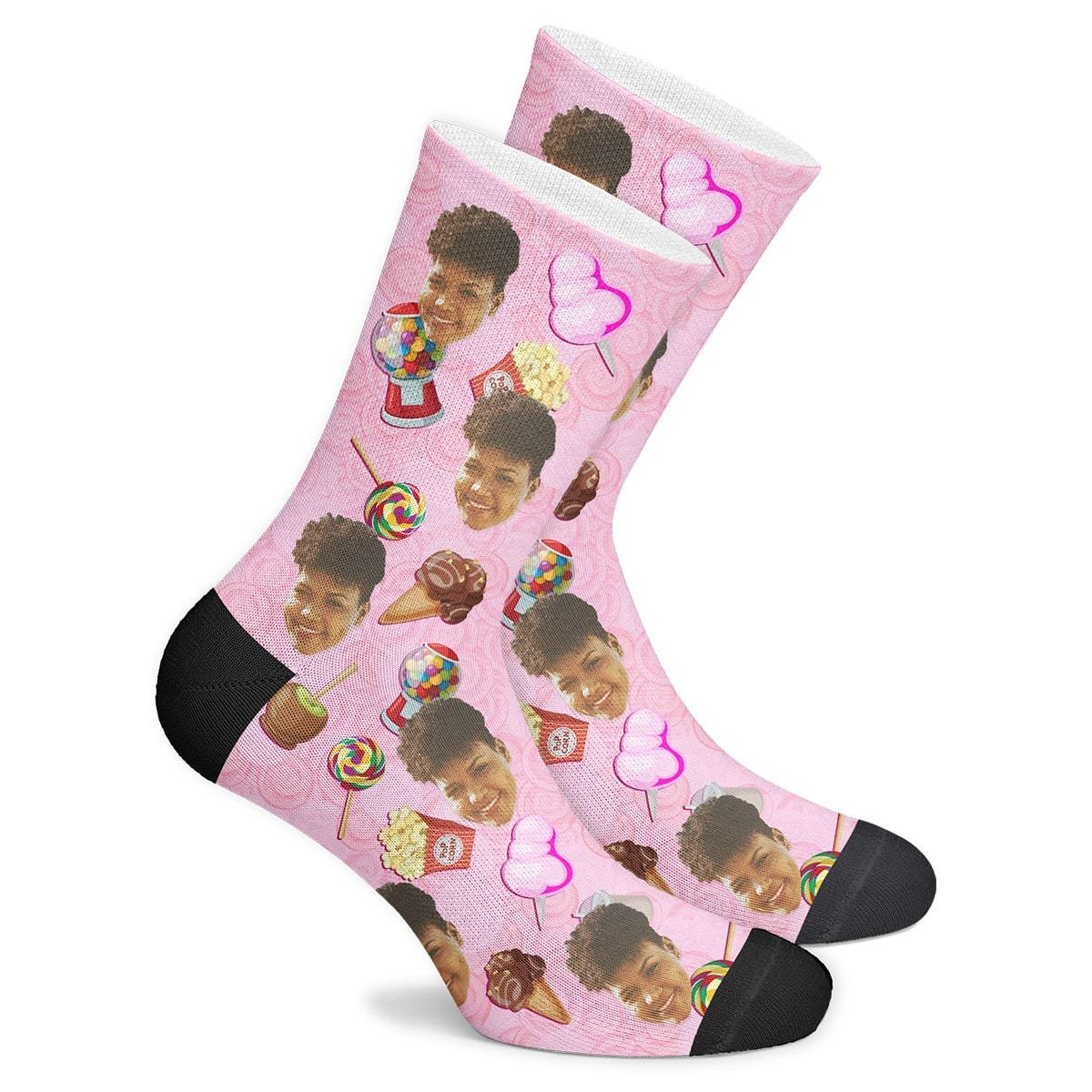 Custom Candy Socks - Myfacesocksau