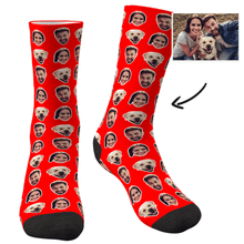 Custom Corlorful Socks With Your Photo - MyFaceSocksAU