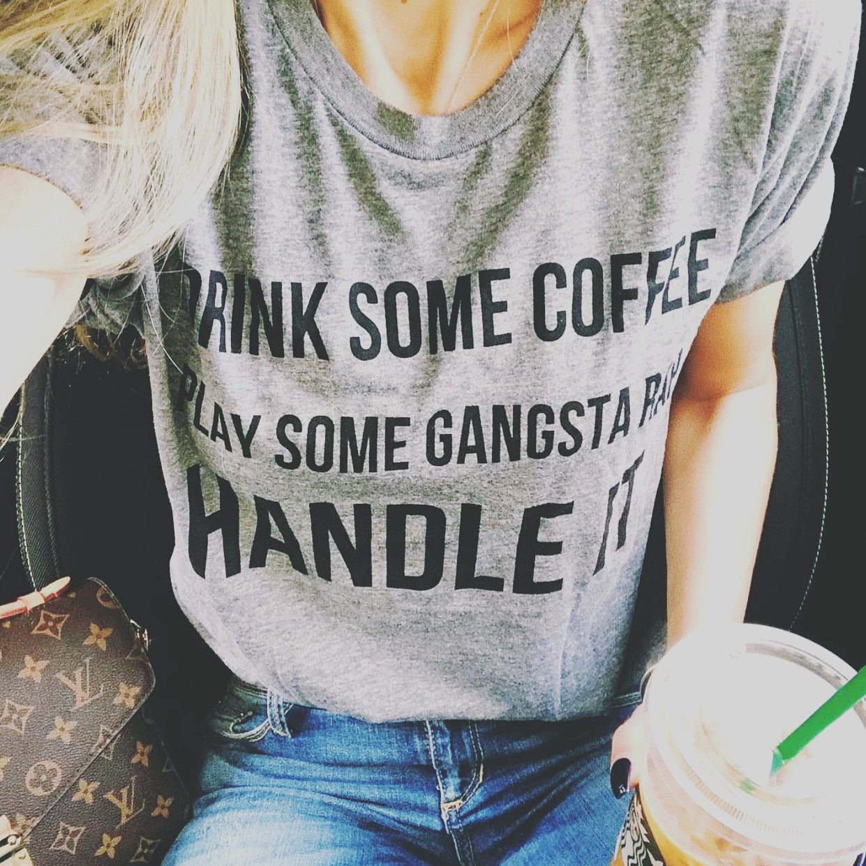 Put On Some Gangsta Rap Tee