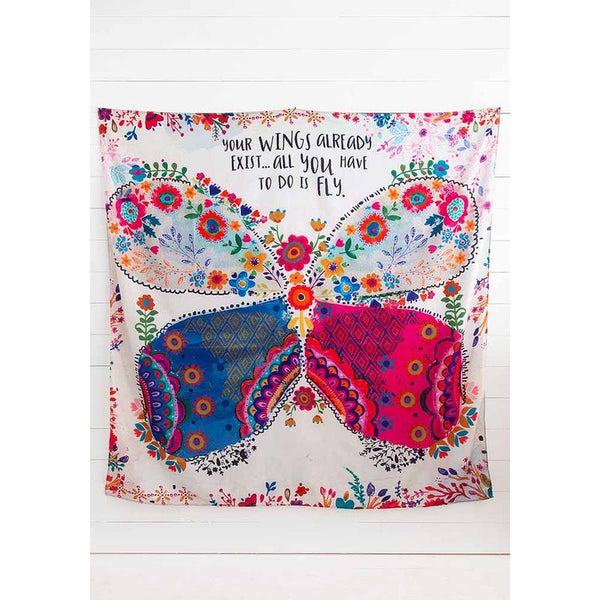 Natural Life Tapestry- butterfly
