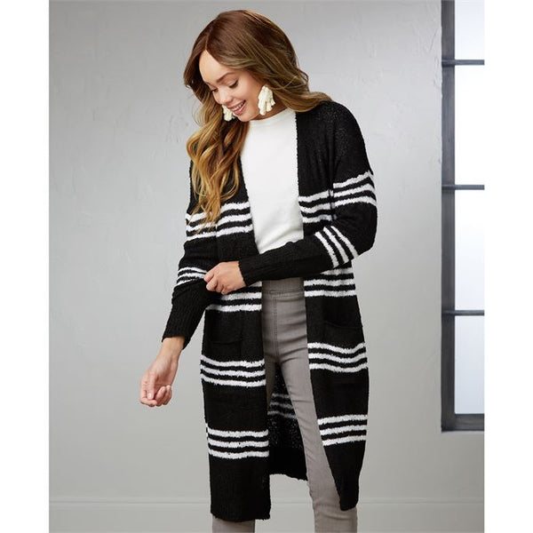 MudPie Wren Stripped Cardigan