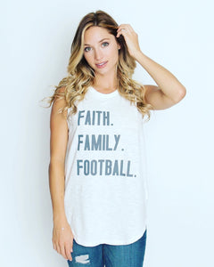 Faith. Family. Football