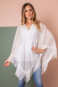Lace it to me poncho