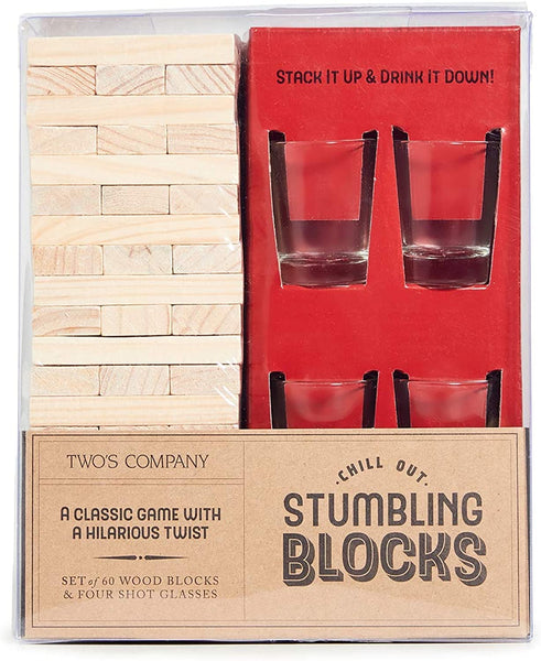 Chill Out Stumbling Blocks Game with a Twist